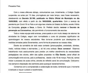 COMUNICADO-Covid 19