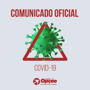 coronavirus comunicado oficial